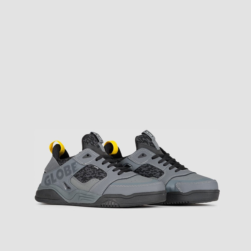 Globe Tilt Evo Grey/Black Knit - Footwear