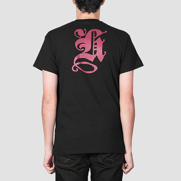 Heathen Blackletter Tee Black - Clothing