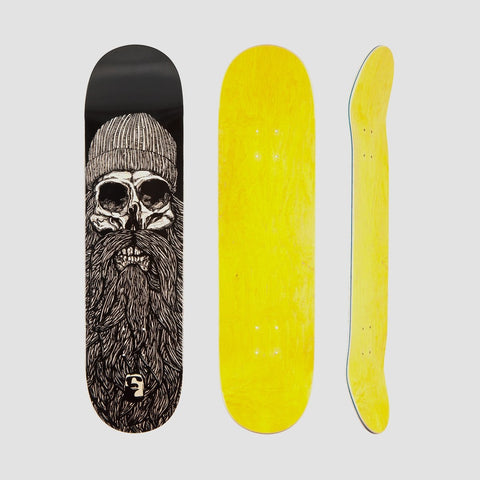 Heathen Destiny Deck Black - 8.25 - Skateboard