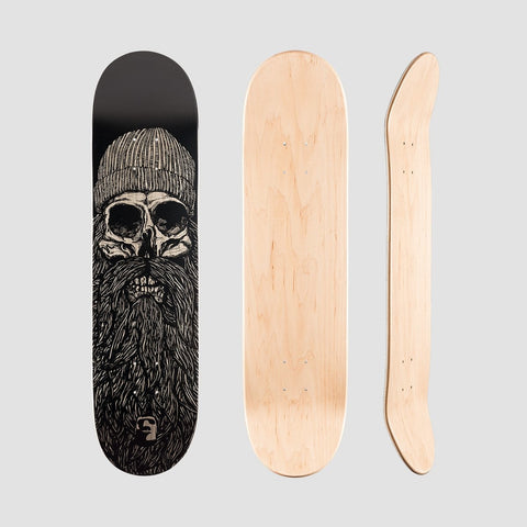 Heathen Destiny Deck Black - 8 - Skateboard