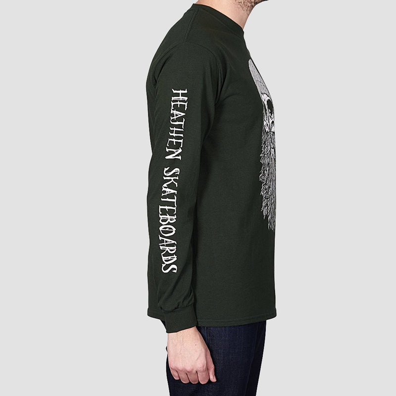 Heathen Destiny Long Sleeve Tee Forest - Clothing
