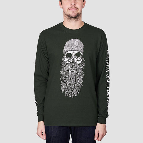 Heathen Destiny Long Sleeve Tee Forest