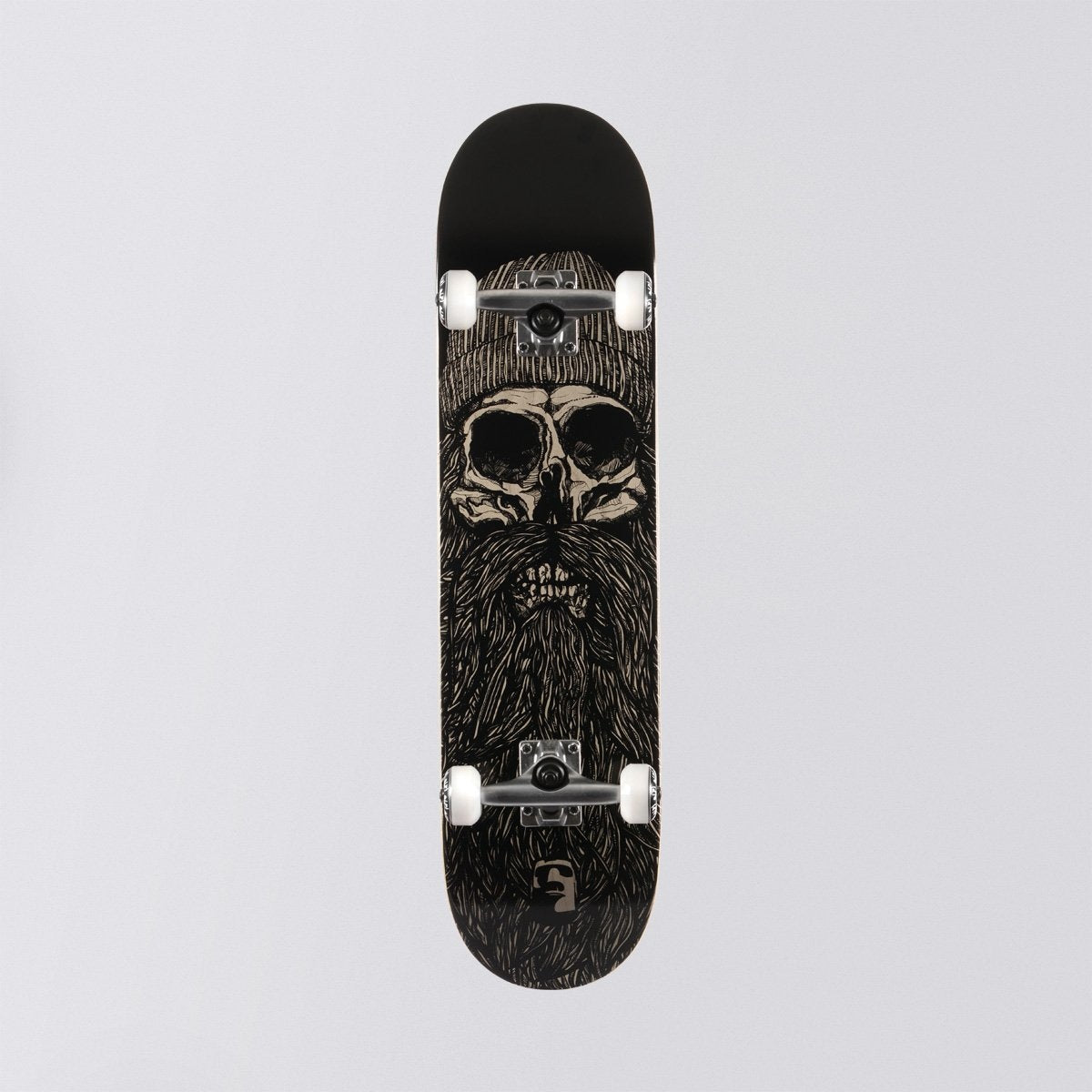 Heathen Destiny Pre-Built Complete Black - 7.75 - Skateboard