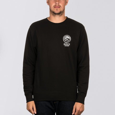 Heathen Doom Crew Sweat Black