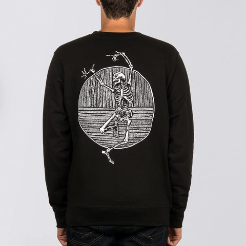 Heathen Doom Crew Sweat Black - Clothing