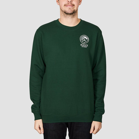 Heathen Doom Crew Sweat Forest