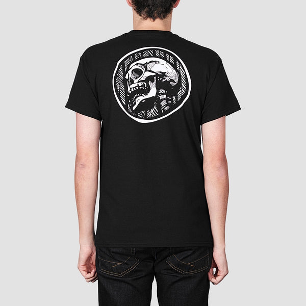 Heathen Doom Skull Tee Black - Clothing