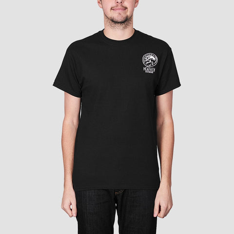 Heathen Doom Skull Tee Black
