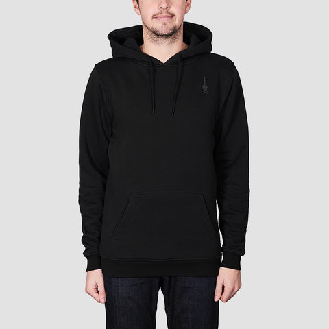 Heathen Load Pullover Hood Black