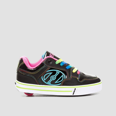 Heelys Motion Plus Black/Pink/Rainbow