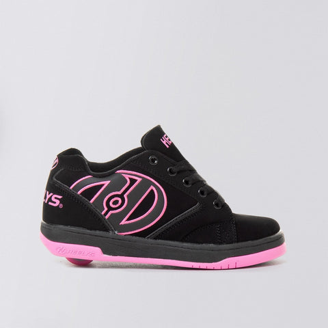 Heelys Propel 2 Black/Hot Pink