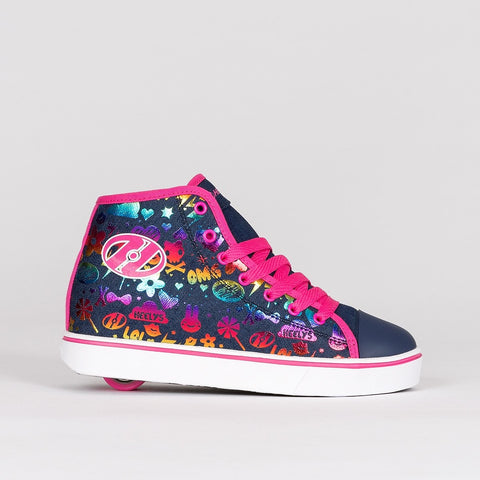 Heelys Veloz Dark Denim/Rainbow