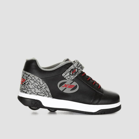Heelys X2 Dual Up Black/Grey/Elephant
