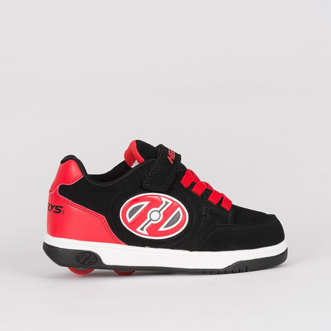Heelys X2 Plus Lighted Black/Red