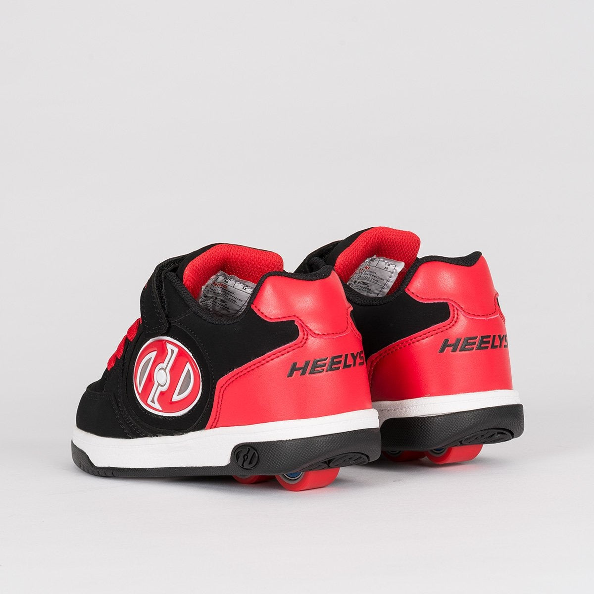 Heelys X2 Plus Lighted Black/Red - Heelys