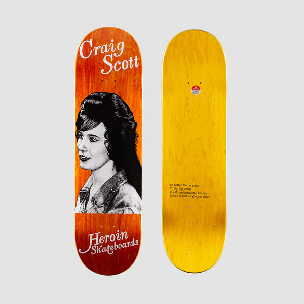 Heroin Craig Questions Country Girls Deck - 8.75""