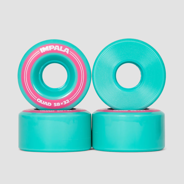 Impala Quad Wheels x4 Aqua