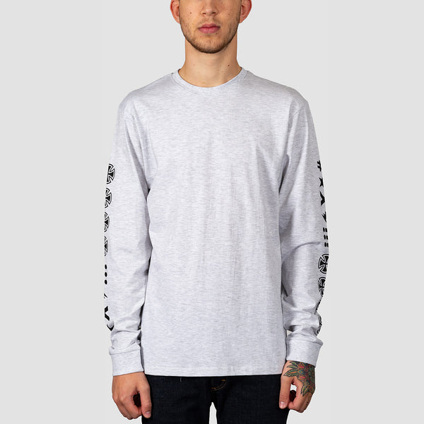 Independent Ante Longsleeve Tee Athletic Heather