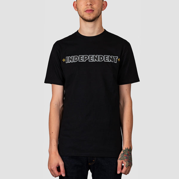 Independent B/C Primary Tee Black