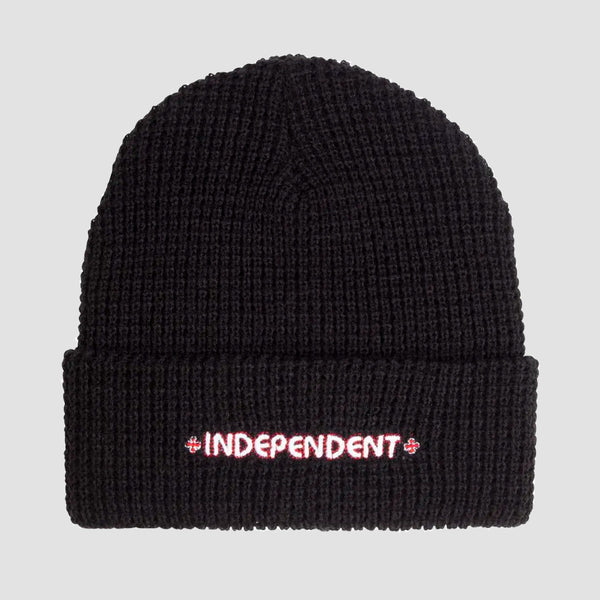 Independent Bar Beanie Black