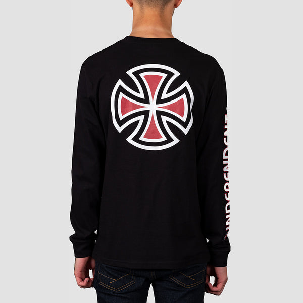 Independent Bar Cross Longsleeve Tee Black