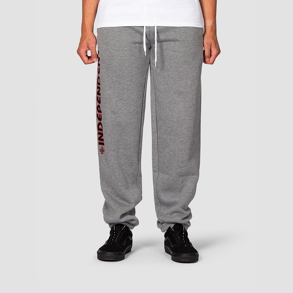 Independent Bar Cross Sweatpants Dark Heather