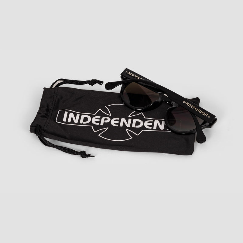 Independent Barrier Mirror Sunglasses Black