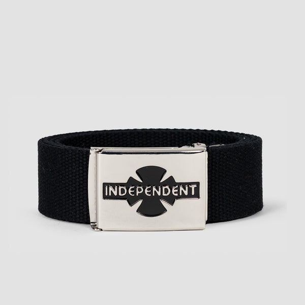 Independent Clipped Belt Black