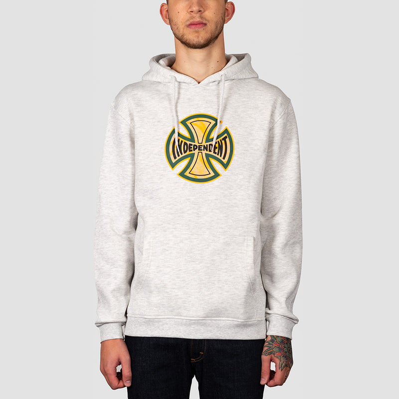 Independent Coil Pullover Hood Athletic Heather