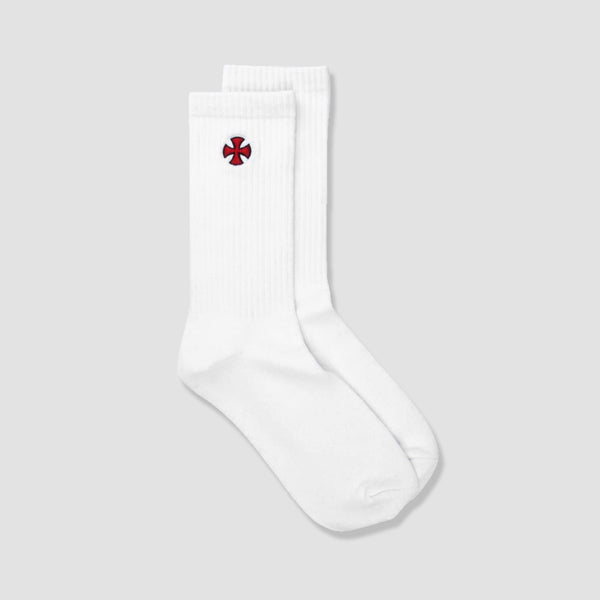 Independent Cross Socks White