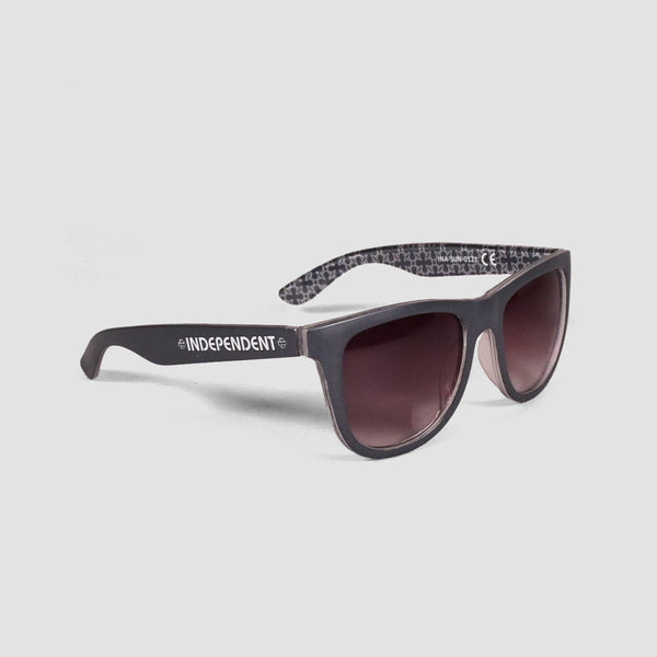 Independent Repeat Cross Sunglasses Navy/Grey