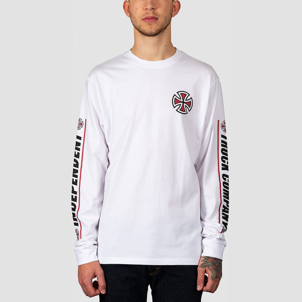 Independent Shear Longsleeve Tee White