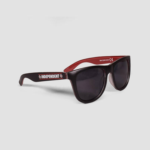 Independent Shear Sunglasses Black/Red
