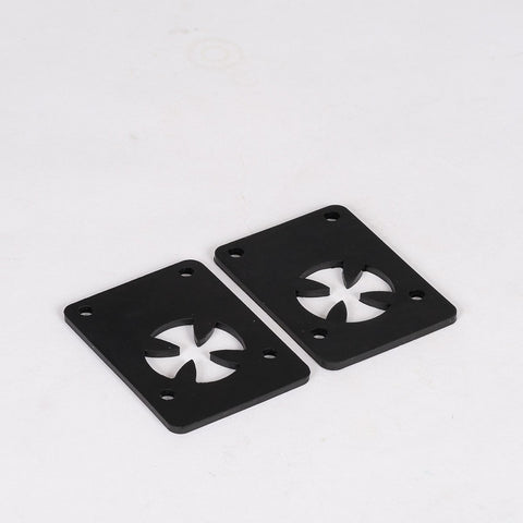 Independent Shock Pads x2 Black 1/8 Inch