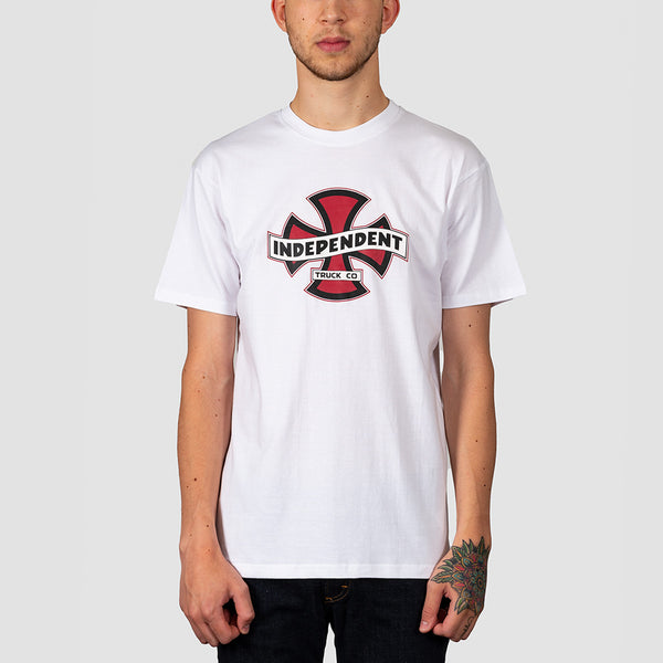 Independent Streamer Tee White