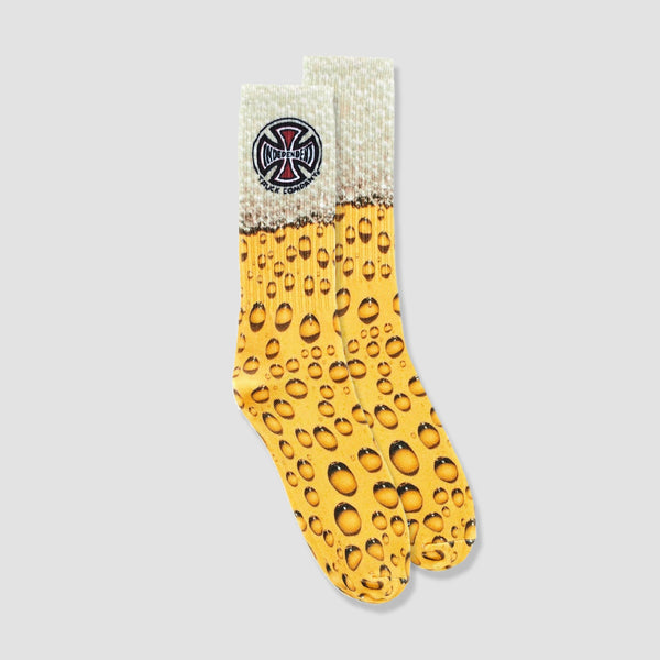 Independent Suds Socks Yellow