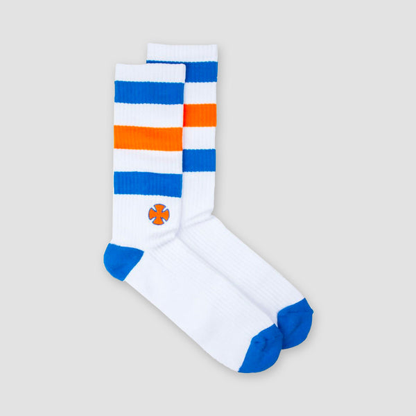 Independent Trip Socks White/Blue
