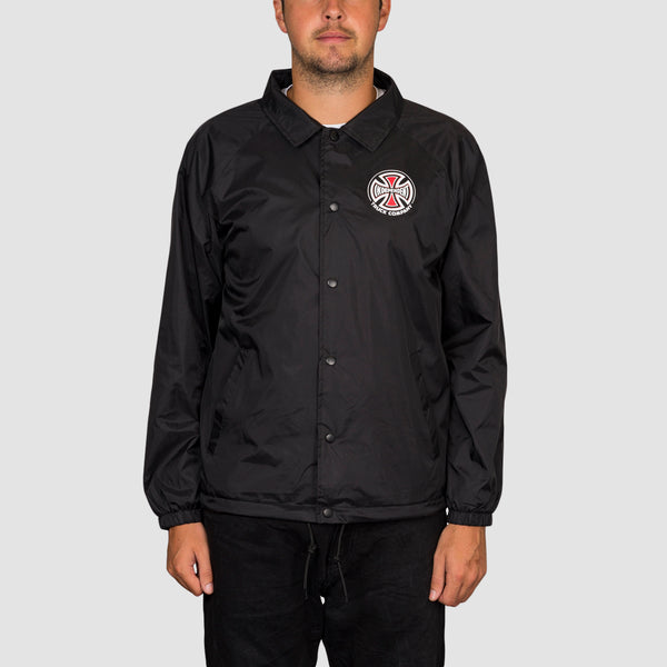 Independent Truck Co Coach Jacket Black