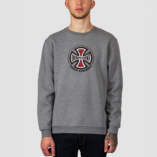 Independent Truck Co Crew Sweat Dark Heather