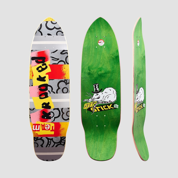 Krooked Rat Stick Deck Multi - 8.25 - Skateboard