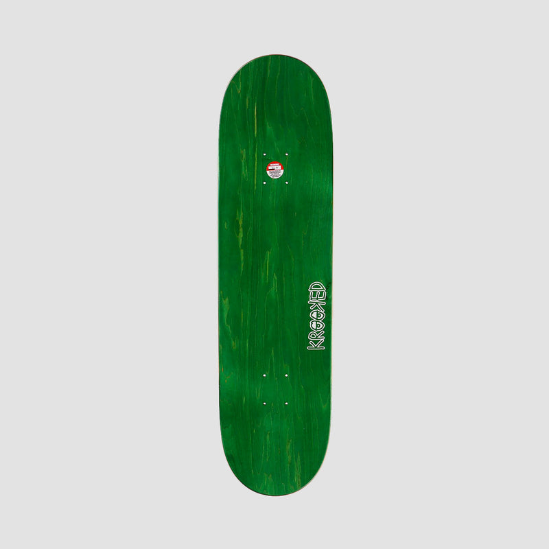 Krooked Team Eyes Yellow Deck Various stains - 8.38""