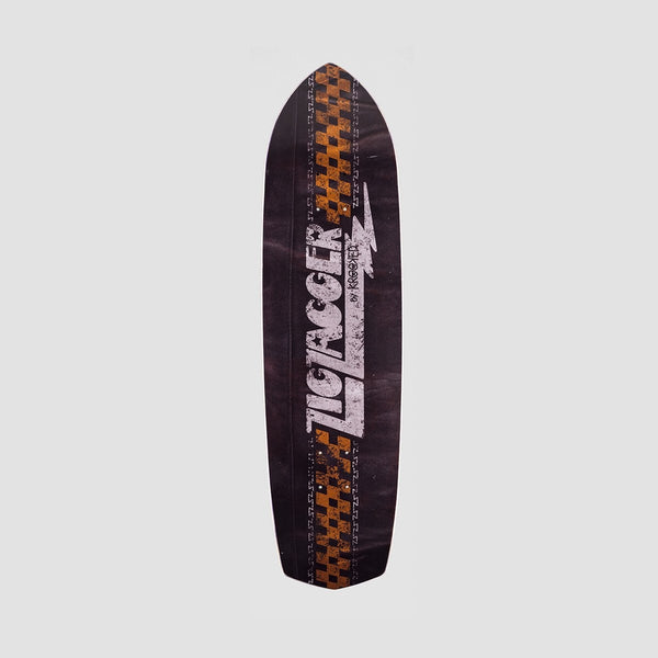 Krooked Zip Zagger Jacket Klub Deck Black - 8.62 - Skateboard
