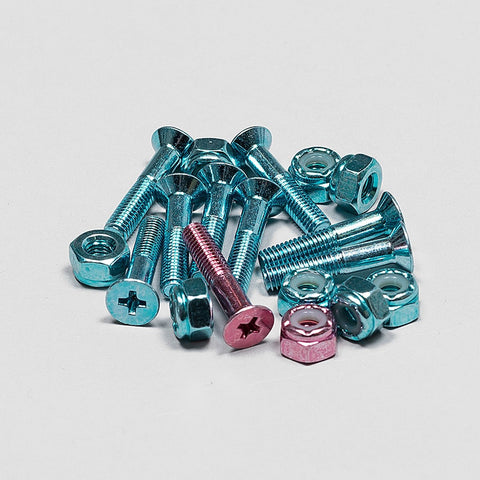 Krux Bolts x9 Krome Phillips Blue 1 Inch