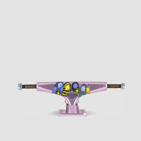 Krux Krome Nora Trucks 1 Pair Purple - 8 - Skateboard