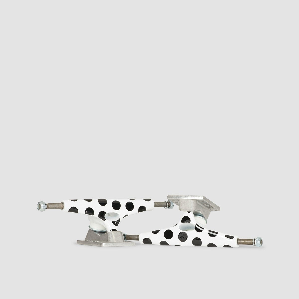 Krux Polka Dot Standard Trucks 1 Pair Black/White - 8.25 - Skateboard