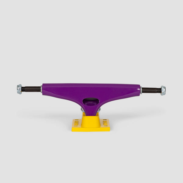 Krux Standard Trucks 1 Pair Purple/Gold - 8""