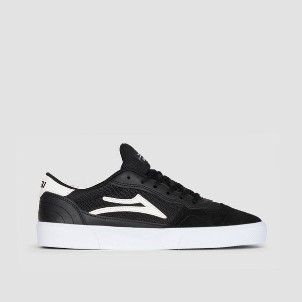 Lakai Cambridge Black/White Suede - Footwear