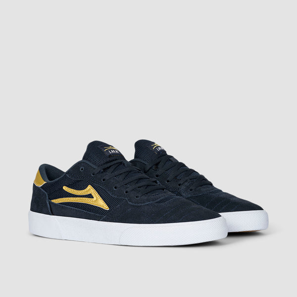 Lakai Cambridge Navy/Gold Suede