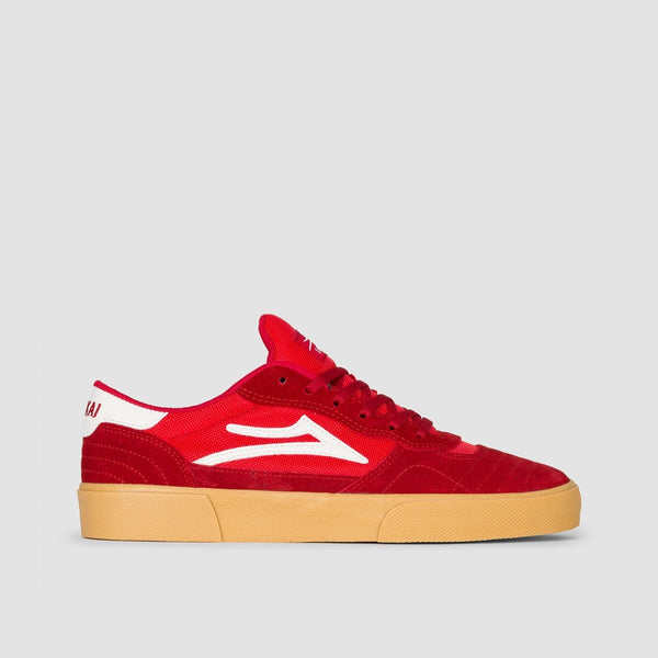 Lakai Cambridge Red/Gum Suede - Footwear
