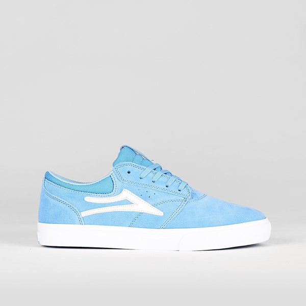 Lakai Griffin Light Blue Suede - Footwear